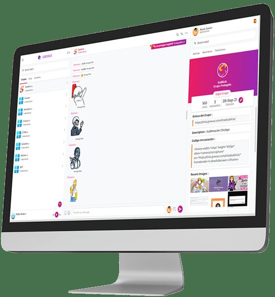 Software Sala Chat de Growuz